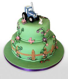 Farm Cake | Heathers Cakes - Designer Wedding and Birthday Cakes, Edinburgh Tractor Birthday Cakes, Farm Cake, House Cake, Wedding Designs, Wedding Ideas, Amazing Cakes, Dream Wedding, Farm House, Edinburgh