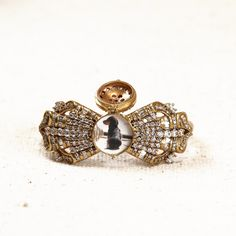 Momo's March bow locket bracelet #deco#bridal