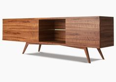 Image result for walnut plywood credenza