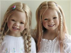 Himstedts blonde by MiriamBJDolls, via Flickr