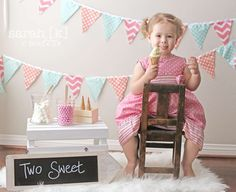 Cute Second Birthday Photo Idea Photography Pinterest Birthday