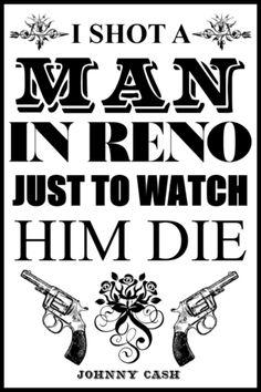 Nothing truer than Johnny Cash