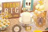 Gender Reveal Guest Dessert Feature | Amy Atlas Events