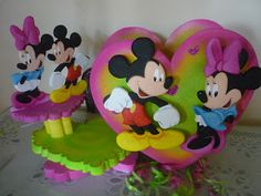 Light Goes Decorating: Mickey y minnie..