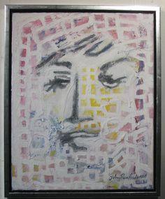 Maleri Birgitte Hougaard 40x50 cm Johnny Røn Andersen Art, Kunst, Art Background, Performing Arts, Art Education Resources, Artworks
