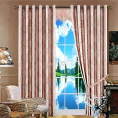 Lighting - Modern Thermal Jacquard Curtains on http://www.paccony.com/product/Lighting-Modern-Thermal-Jacquard-Curtains-19378.html