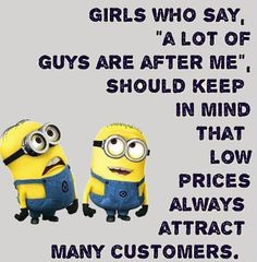 Everyone loves minions more than any other personality. So you love Minions and also looking for Minions jokes then we have posted a lovely minion jokes. Here are 28 Minions Memes pen Funny Minion Memes, Minions Quotes, Funny Relatable Memes, Funny Texts, Epic Texts, Most Funny Jokes, Fun Funny, Funny Humor, Cute Minion Quotes