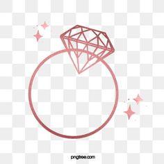 Gold Pearl Ring, Rose Gold Diamond Ring, Pink Ring, Rose Gold Frame, Rose Gold Pink, Gold Pattern, Diamond Pattern, Diamond Background, Heart Frame