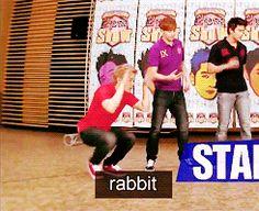 gif - junho's a rabbit ...