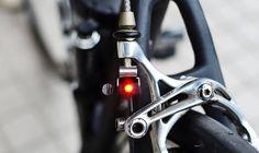 Luz de freno para bici