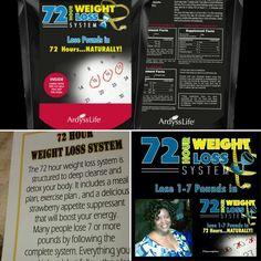 It's really simple, with my 72 Hour Weight Loss System you will lose up to 7 lbs in 3 days (72 hours). ONLY $15 + tax s/h #enjoypeacewithkendra #detox #health #allnaturalproducts