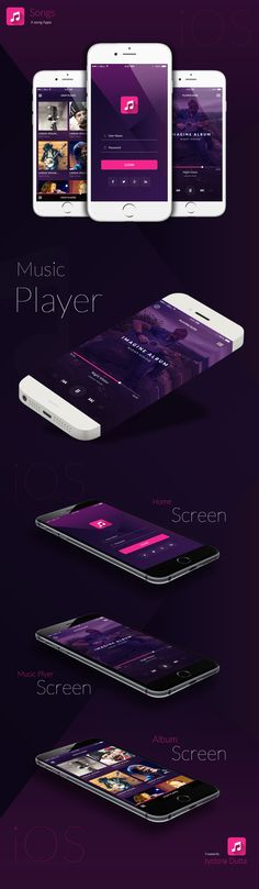 Song Apps on Behance