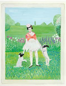 "Maira Kalman & Daniel Handler - ""Girls Standing on Lawns"""