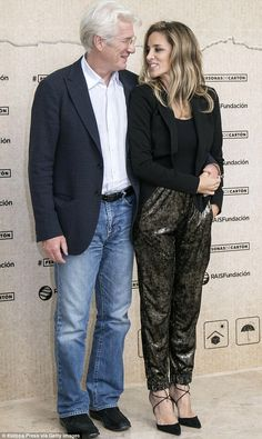His leading lady! Richard Gere, 67, proved he's still quite the ladies man as he flaunted his stunning girlfriend Alejandra Silva, 33, at a charity event  in Spain on Monday