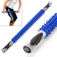 FWY Muscle Roller Massage Stick for Runners, Athletes, Therapy or Just Relaxation Muscle Roller, Reflexology Massage, Thing 1, Massage Roller, Deep Tissue, Athletes, Runners, Therapy