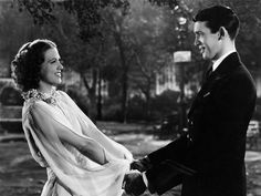 Eleanor Powell and James Stewart in BORN TO DANCE (1936)