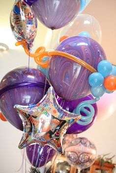 Balloon Bouquet by Pop Artist
