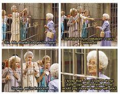 Adult Humor: Best moment from Golden Girls - love them!