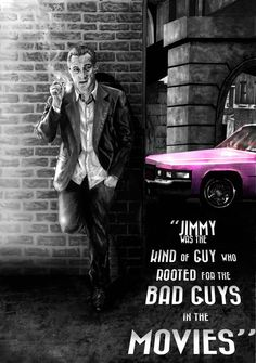 """Goodfellas - """"Jimmy was the kind of guy who rooted for the bad guys in the movies"""" by Ryke6 #GangsterMovies #GangsterFlick"""