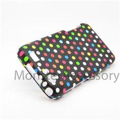 Click Image to Browse: $5.95 Rainbow Dots Hard Case Snap On Cover For Motorola Atrix 3 HD Dinara MB886