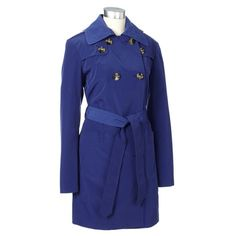 Double-breasted Trench Coat w/ Belt