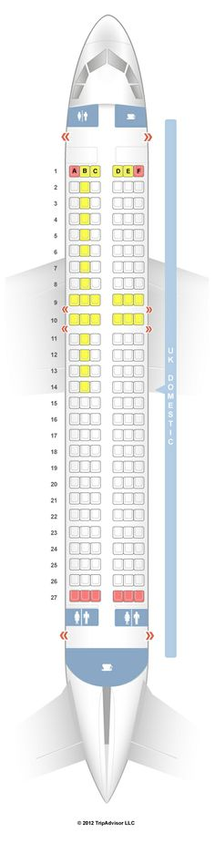 PHILIPPINE AIRLINES AIRBUS A330-300 AIRCRAFT SEATING CHART ...