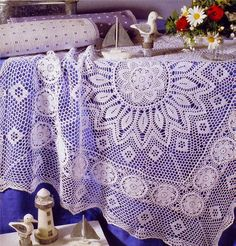 World crochet: Tablecloth 219