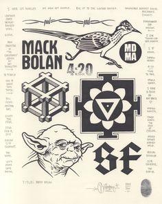 """""""Mack Bolan"""", 2015."""