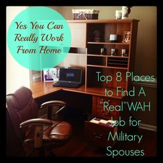 Top 8 Places for Military Spouses To Find A Work from Home Job - Army Wife 101