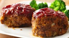 Mini Gluten Free Meatloaves from the 7 Day Clean Eating Meal Plan with Recipes Printable Shopping List!  Gluten Free and Dairy Free!