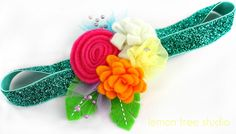 Spring is Coming -- a Colorful Headband -- Fanciful & Fabulous Collection. $13.00, via Etsy.