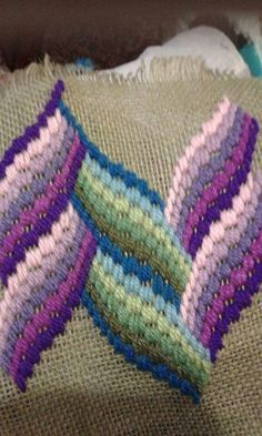 491 best images about Bargello Broderie Bargello, Bargello Needlepoint, Bargello Quilts, Needlepoint Stitches, Needlework, Cross Stitch Embroidery, Embroidery Patterns, Hand Embroidery, Plastic Canvas Stitches