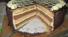 Czech Desserts, No Cook Desserts, European Dishes, High Sugar, Torte Cake, Tiramisu, Nutella, Baked Goods, Sweet Recipes
