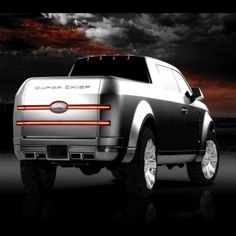 Photographs Of The 2006 Ford Super Chief Concept An Image Gallery