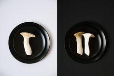 Photography: ©️️️️ Gitta Polak www.tastyshot.nl - Celeriac and mushrooms soup./Knolselderijsoep met paddenstoelen