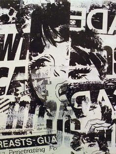 Graphic Design Posters, Graphic Design Illustration, Punk Poster, Art Inspo, Art Direction, New Art, Collage Art, Wallpaper, Screen Printing