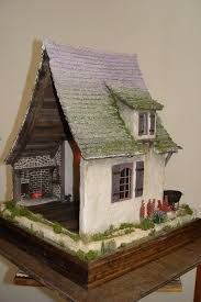 Image result for witches cottage interior miniature
