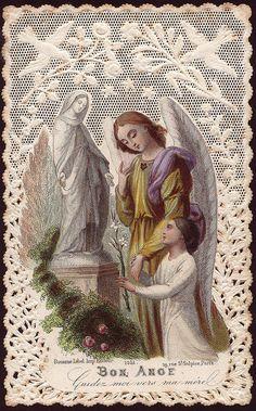 """Good Angel"" Holy Card"