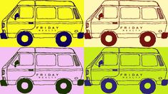 The Friday Realty Van goes Pop Art thanks to local artist, Tsering! Pleasure Point, Local Artists, Pop Art, Pikachu, Photographs, Thankful, Friday, Van, Fictional Characters