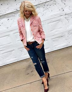 Pretty in Pink - Style Bloggers Over 40