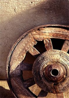 The Wheel wood metal
