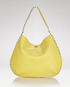 7886ff71966d Tory Burch Hobo - Pyramid Stud Handbags - All Handbags - Bloomingdale s