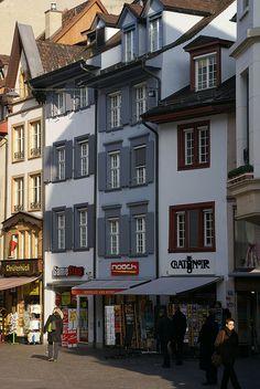 Gerbergasse, Basel, Switzerland