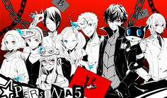 Persona 5 Phantom Thieves
