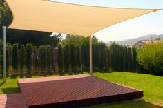 Patio Shade On The Deck