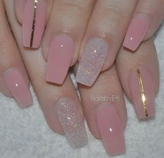 50 Sweet Pink Nail Design Ideas for a Manicure That Suits Exactly What You Need Want a fun summer manicure but think pink nail designs aren't your thing? Miss Nail Addict, listen up. Pink isn't what you remember from your very first manicure. Pink Nail Designs, Simple Nail Art Designs, Acrylic Nail Designs, Nails Design, Clear Nails With Design, Pink Clear Nails, Red Matte Nails, Pink Toe Nails, Clear Nail Designs