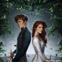 By Charlie Bowater Fantasy Inspiration, Story Inspiration, Character Inspiration, Character Art, Book Characters, Fantasy Characters, Charlie Bowater, The Old Astronomer, Fantasy Couples