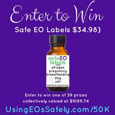 Celebrating 50,000 FB Group Members – a #giveaway #safeEOlabels #essentialoils