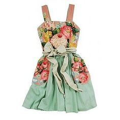 omg i must have this!    Delia's Garden Dress : Adore Vintage Clothing Store