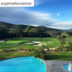 "#Repost @sugarloafsocialclub ""In what seems like a weekend retreat for the masterminds of Spectre Argentario Golf Resort hosts perhaps the most hidden daunting intimidating modern and unique entrance clubhouse and decor we have ever seen."" #Italy #whyilovethisgame #tuscany #toscana #argentarioresort #golf #argentariogolf"